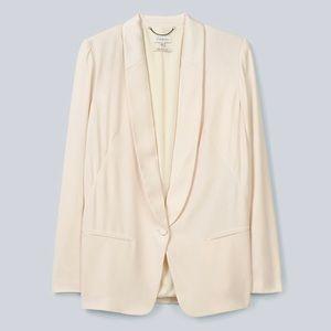 Aritzia Babaton Cole Tuxedo Blazer in Oak / Cream